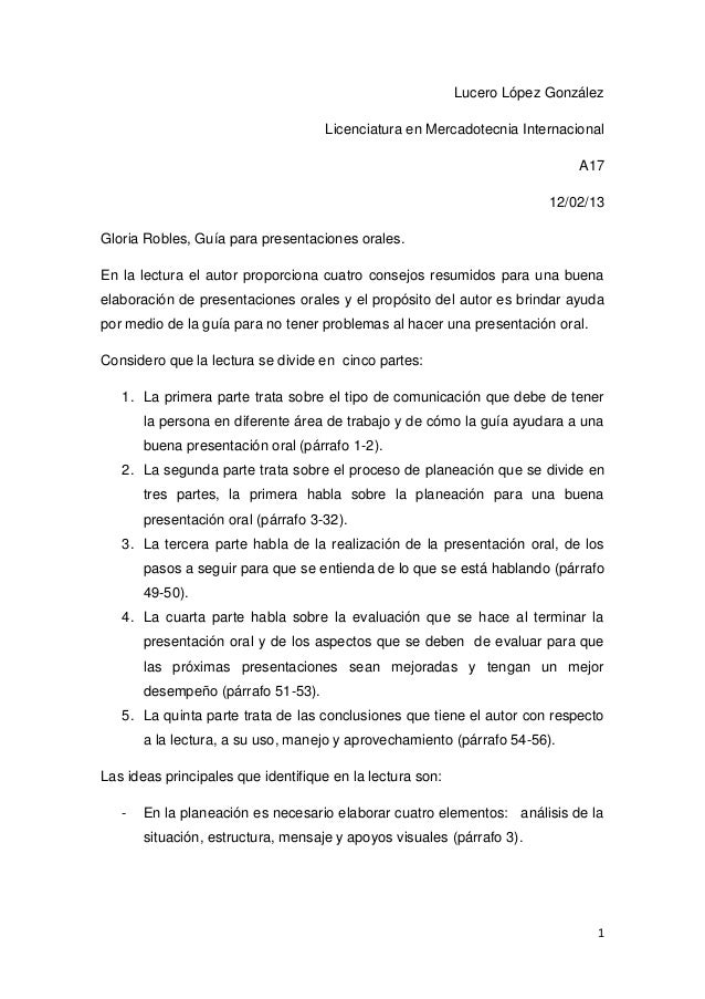 Lucero López González                                    Licenciatura en Mercadotecnia Internacional                      ...