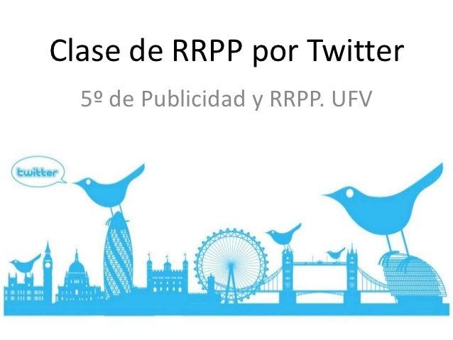 Resumen clase tuitera 21 nov-12