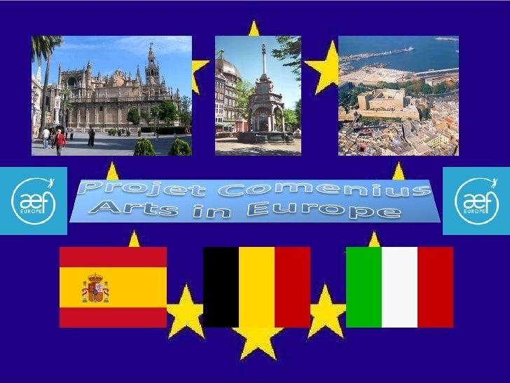 Actividades Comenius 20082010 en los tres paises
