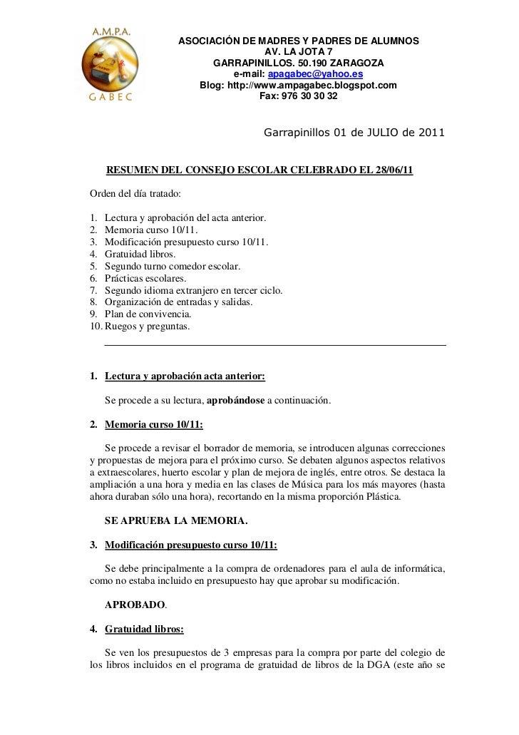 ASOCIACIÓN DE MADRES Y PADRES DE ALUMNOS                                       AV. LA JOTA 7                           GAR...