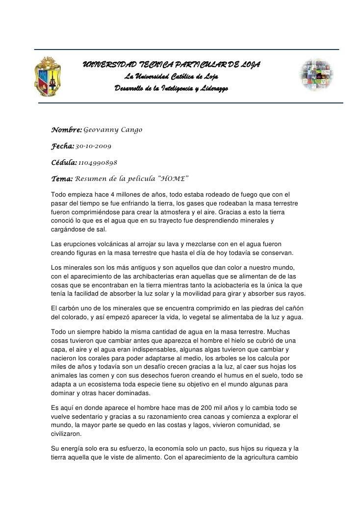 5235575-63500-346710-61595UNIVERSIDAD TECNICA PARTICULAR DE LOJA<br />La Universidad Católica de Loja<br />Desarrollo de l...