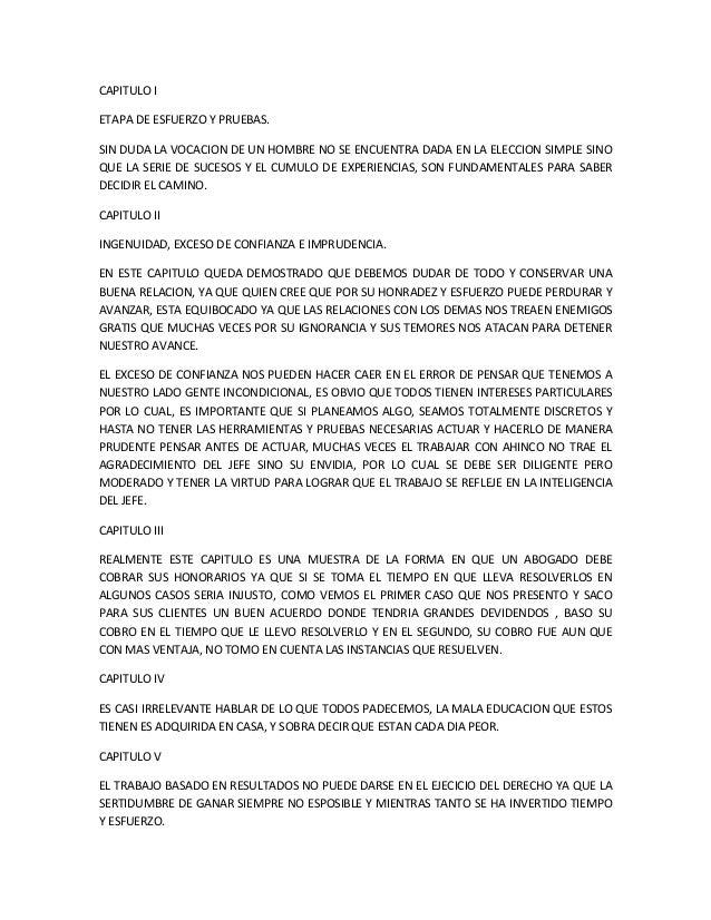 CAPITULO I ETAPA DE ESFUERZO Y PRUEBAS. SIN DUDA LA VOCACION DE UN HOMBRE NO SE ENCUENTRA DADA EN LA ELECCION SIMPLE SINO ...