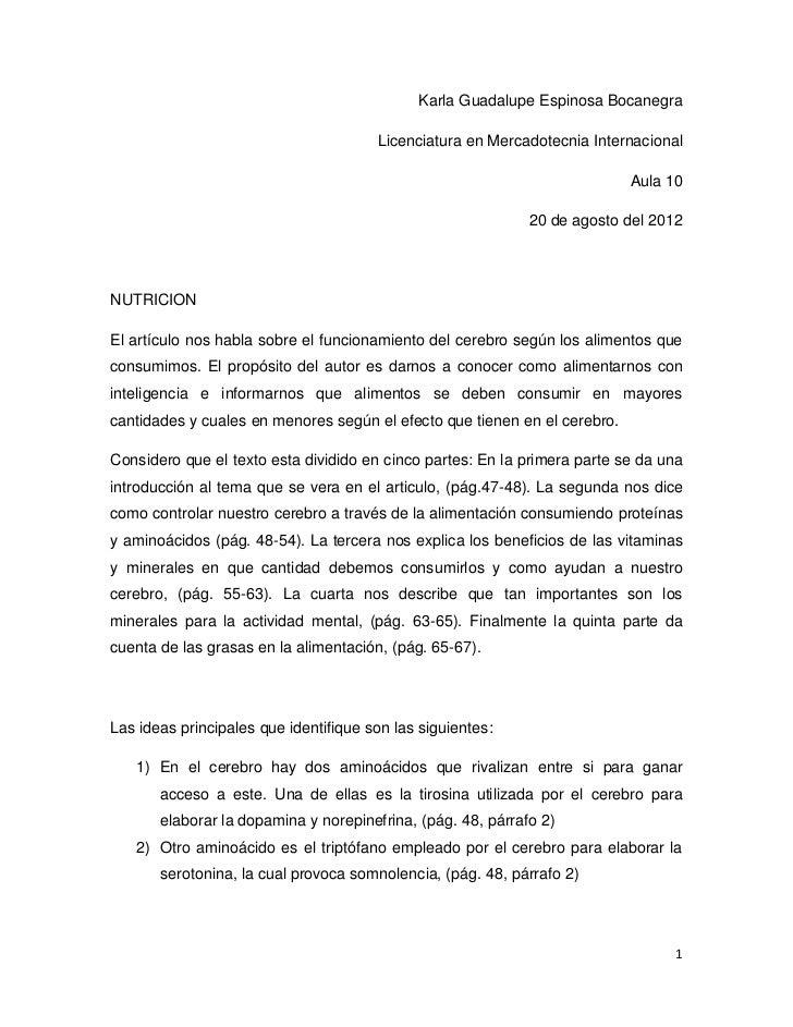 Karla Guadalupe Espinosa Bocanegra                                       Licenciatura en Mercadotecnia Internacional      ...
