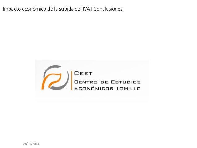 CEET_Resumen ejecutivo_Estudio impacto económico subida del IVA