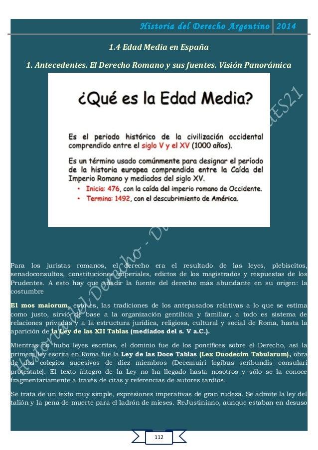 Edad Media 1 Resumen Edad Media en España 1