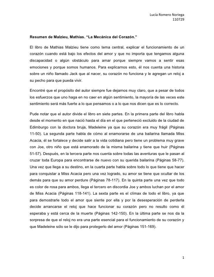 Lucía Romero Noriega                                                                                    110729Resumen de M...