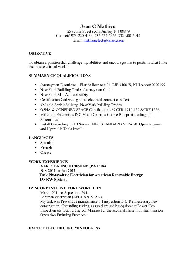 resume nov 2012 updated