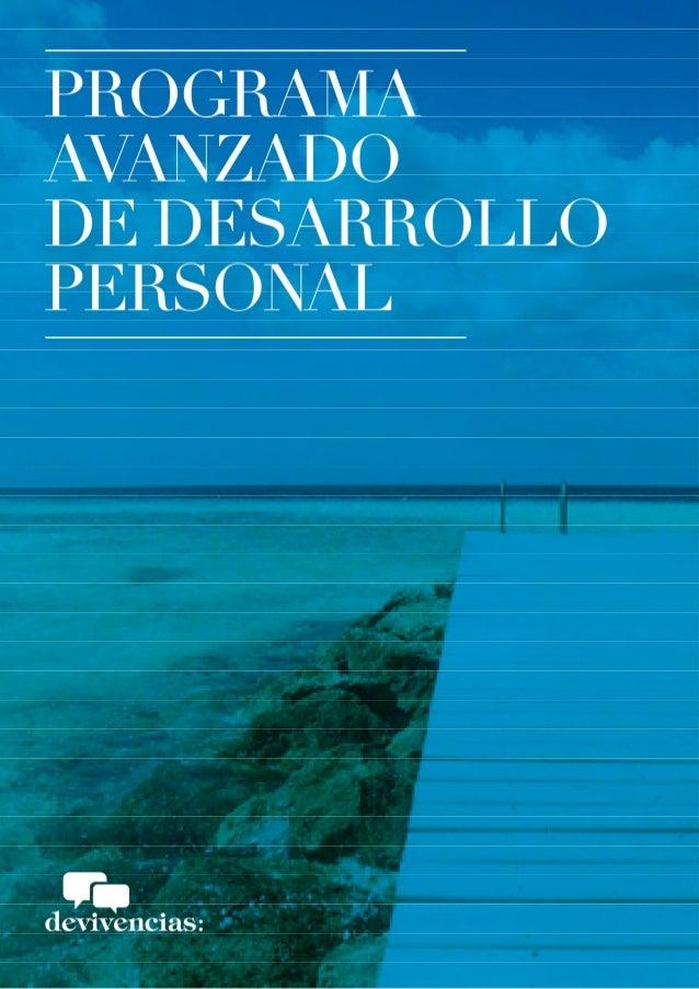 Programa desarrollo personal