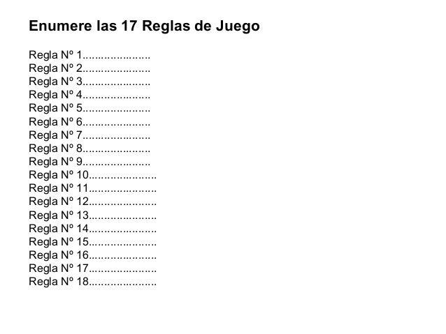 Resumen reglas de futbol 26 03 2014 for 5 reglas del futbol de salon