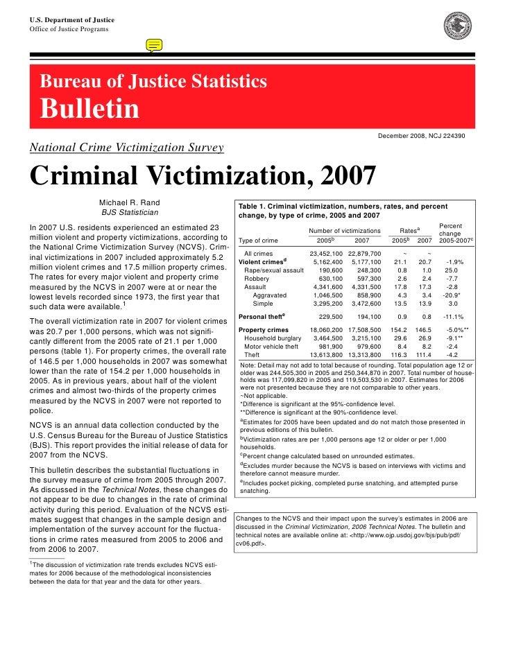 Resumen Resultados 2007 Ncvs