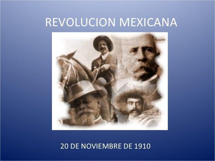 Revolucion Mexicana Animada Revolucion Mexicana 20 de