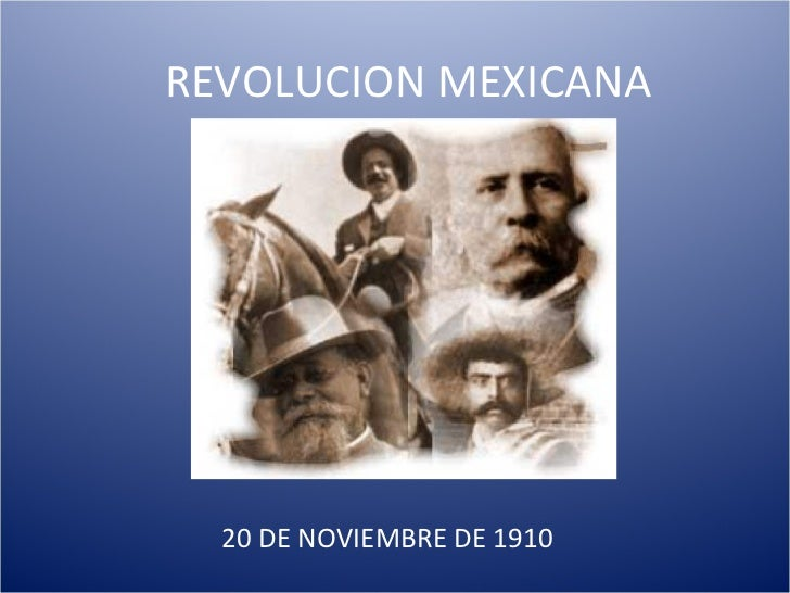 resumen revolucion mexicana