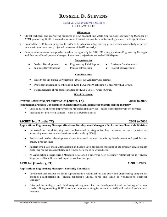 ct resumes - Template