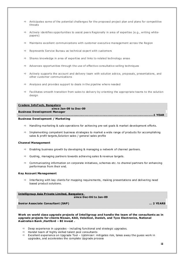 7 components of an effective resume