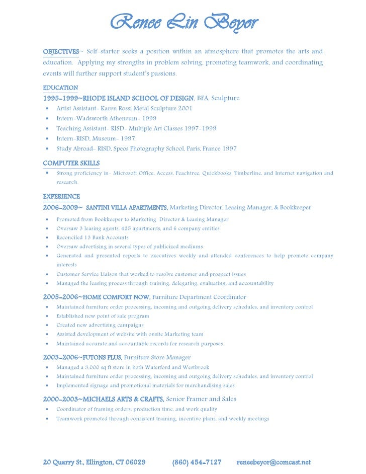 Leasing Agent Sample Resume Manager Resumes