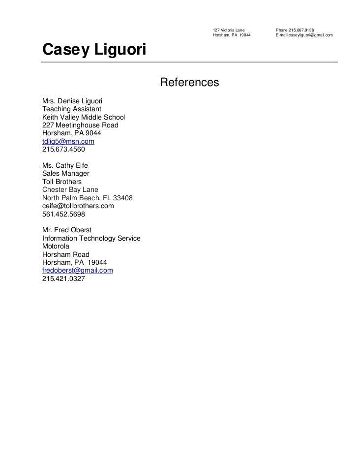 Resume writing experts references Music homework help ks3 – Resume Reference Sheet Template