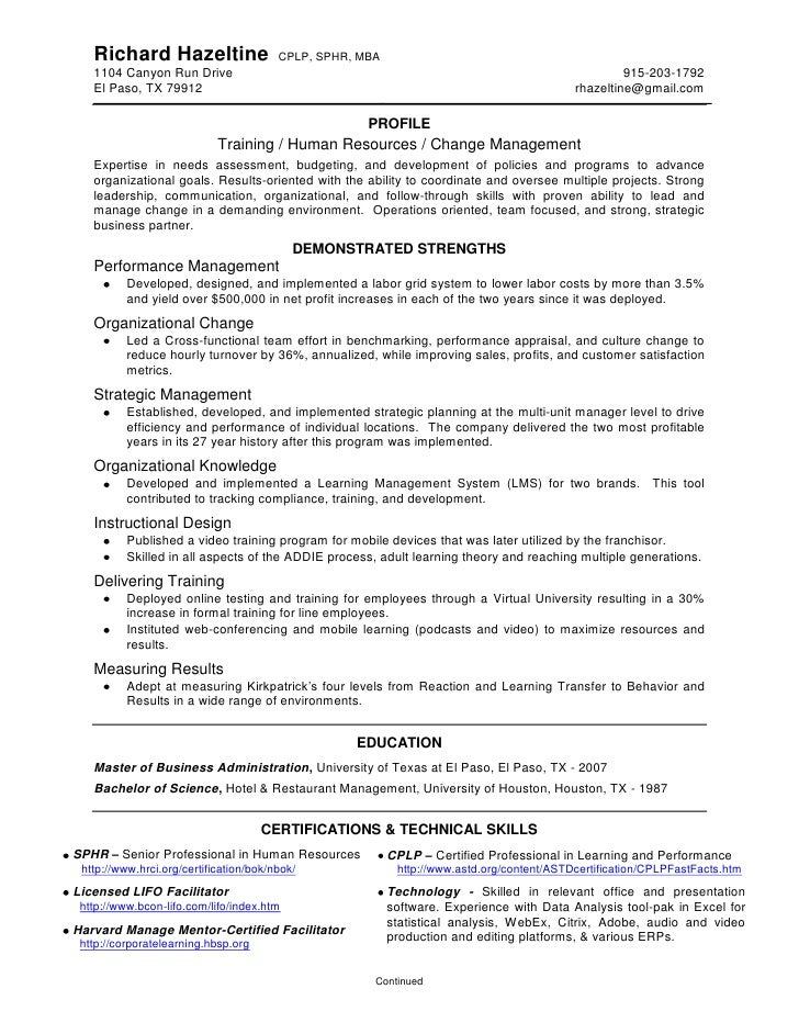Listing Certifications On Resume