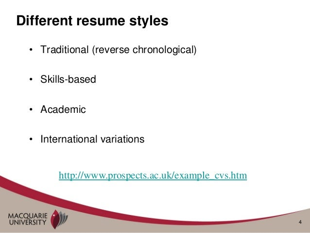 rules for preparing resumes and cover letters