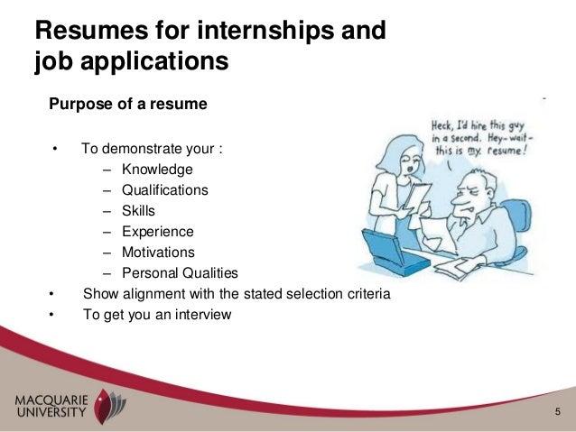 resume preparing