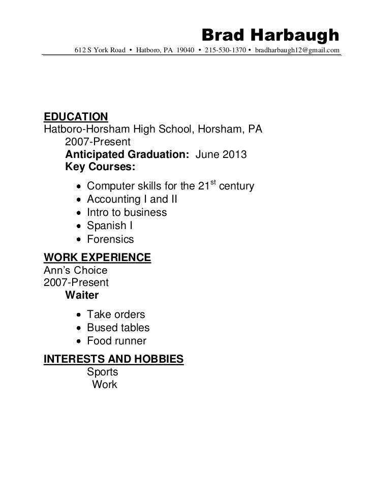 resume sle hatboro 0411