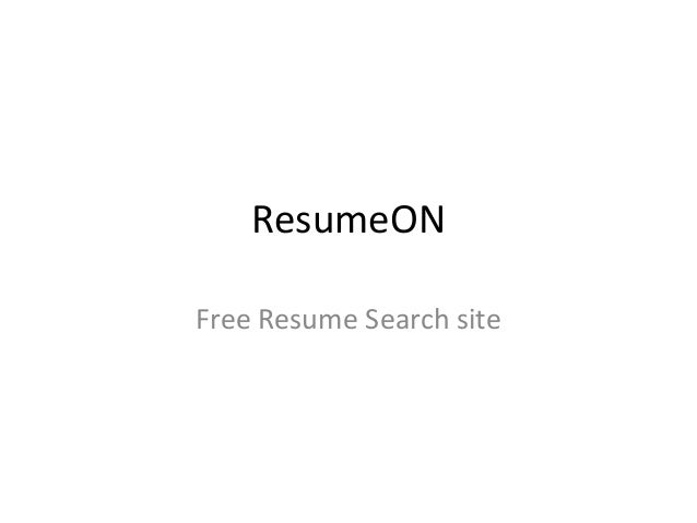 free resume search sites in india resume ideas