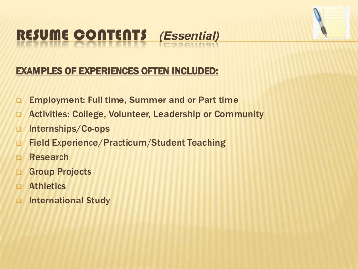 Effective Resume Writing  Effective Resume Writing