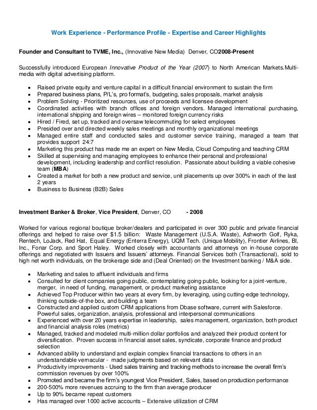 Resume tom kaufman ext3