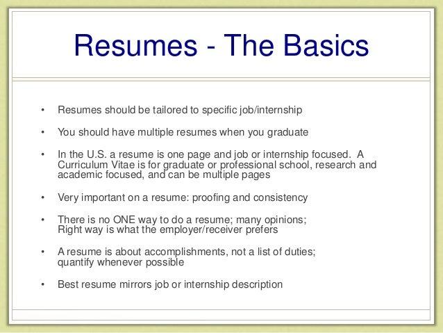 resume workshop 2015