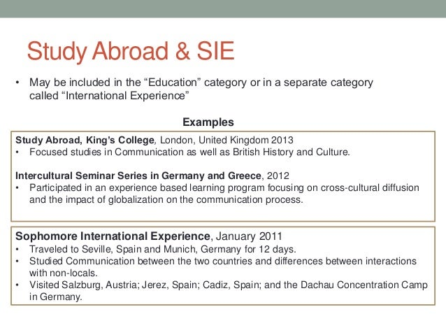 essay studies abroad Explore study abroad programs   intern abroad, intensive language abroad, teach abroad, volunteer abroad, full degrees abroad on the top studyabroadcom website.
