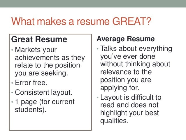 Resume writing services ct