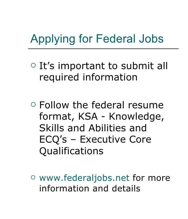 Federal resume and ecq writing services