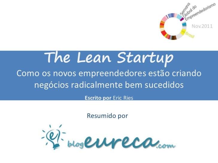 Resumo Eureca! - The Lean Startup
