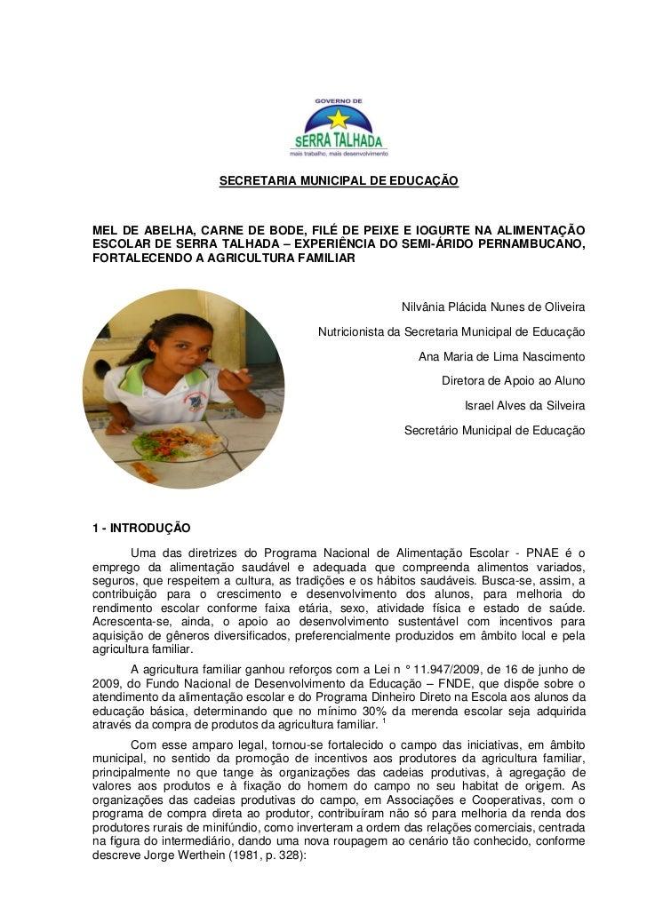 Resumo Fenerc - 2011 Serra Talhada.
