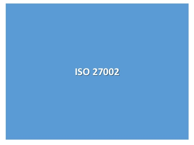 Resumo ISO 27002