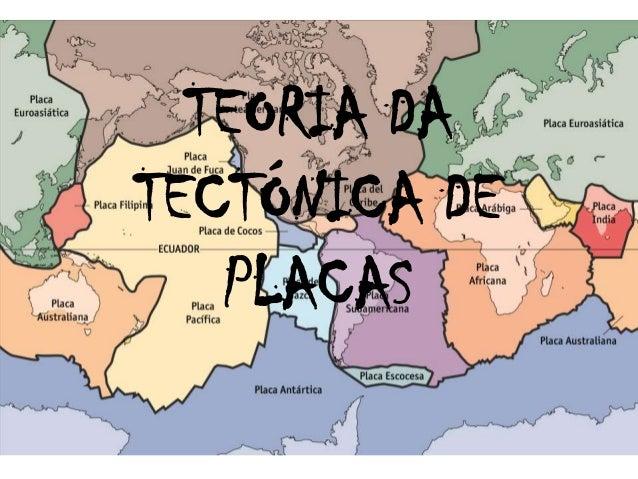 TEORIA DATECTÓNICA DE   PLACAS
