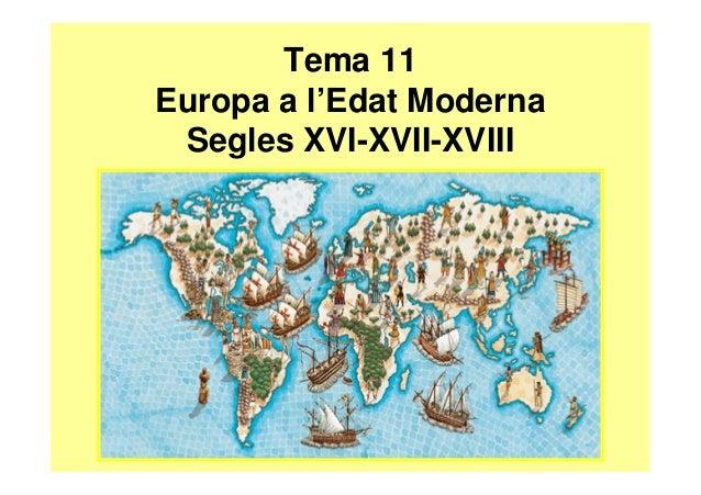 Resum tema 11 europa a l'edat moderna 2 ESO