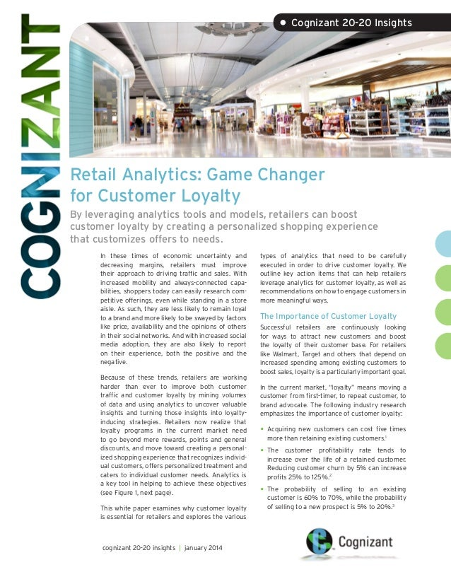 Retail Analytics: Game Changer for Customer Loyalty