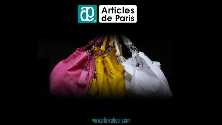 Accessoires de Mode www.articlesdeparis.com
