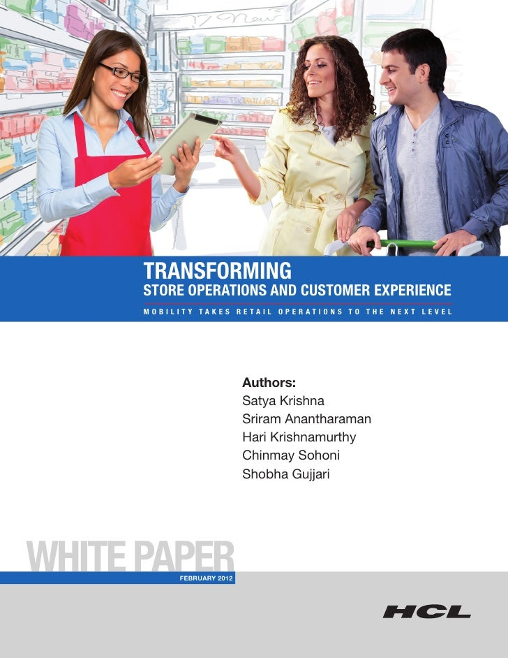 HCLT Whitepaper: Transforming Store Operations and Customer Experience