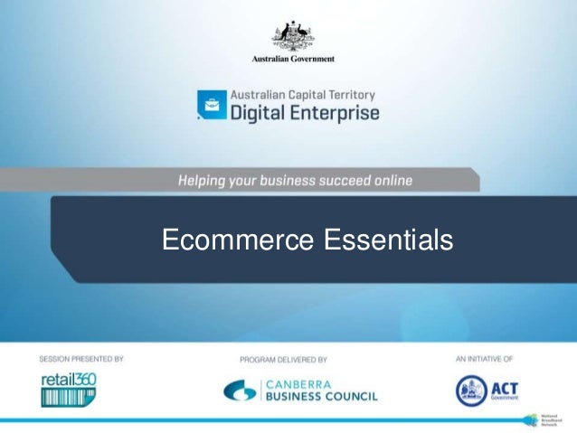 E-commerce essentials by Retail360