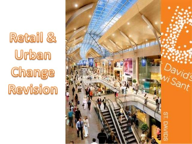 Retail and urban revision