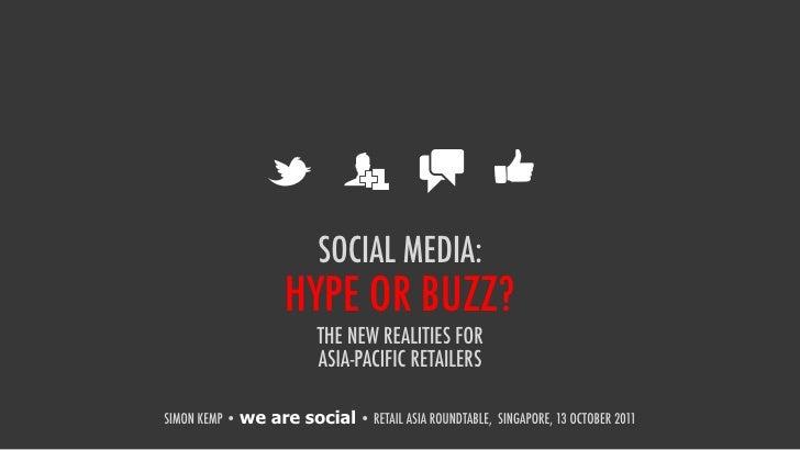 Retail asia social media
