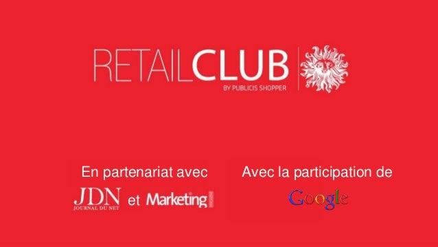 Retail Club#5 : Le point sur les vitrines digitales
