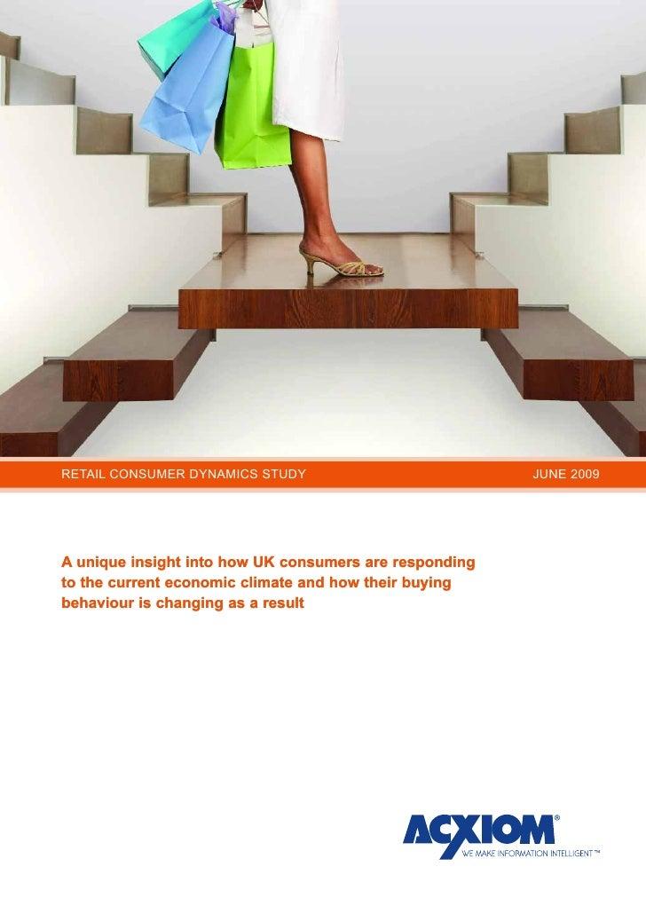 Retail Consumer Dynamics Study