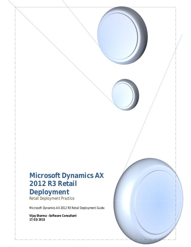microsoft dynamics ax 2012 r3 retail pdf