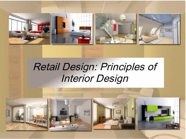 retail design principles of interior design