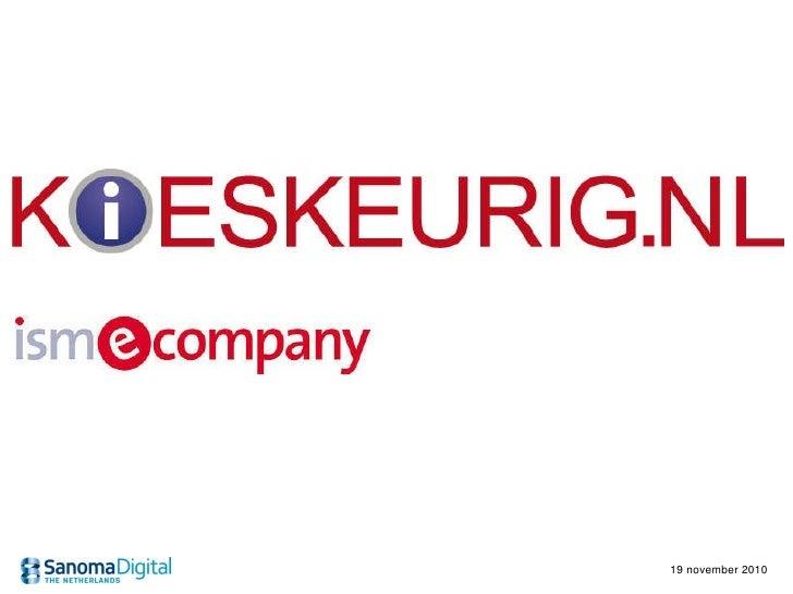 Retail e-commerce event: kieskeurig.nl