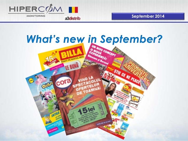 What's new in September?