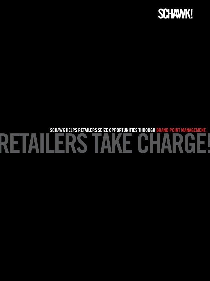 Retailers take charge
