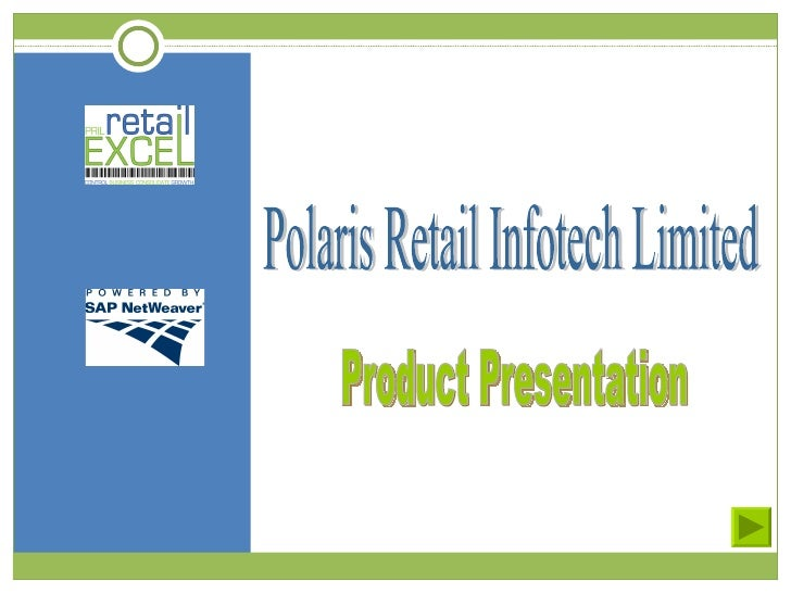 Polaris Retail Infotech Limited Product Presentation